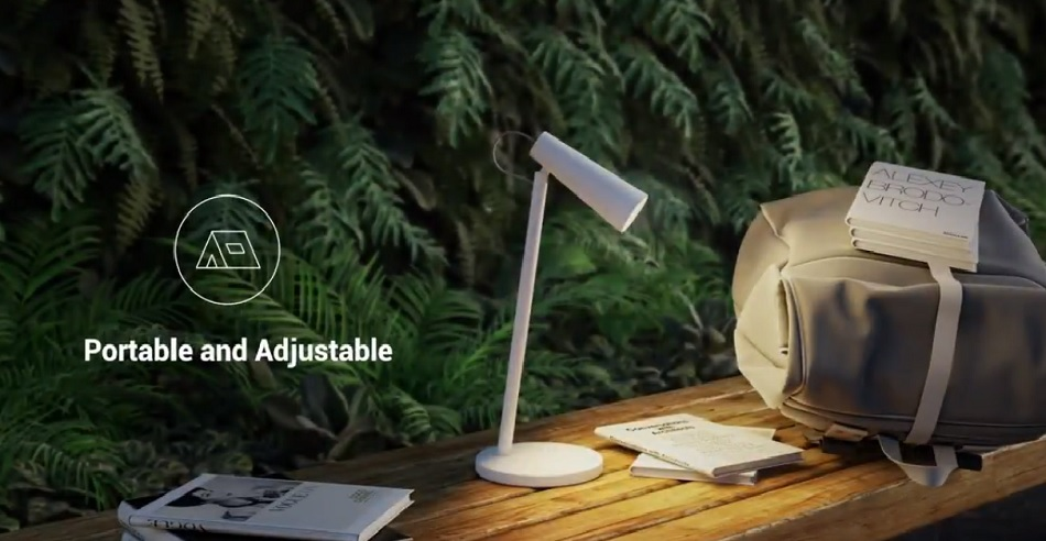 Xiaomi Mi Rechargeable LED Lamp announced, crowdfunding starts July 18