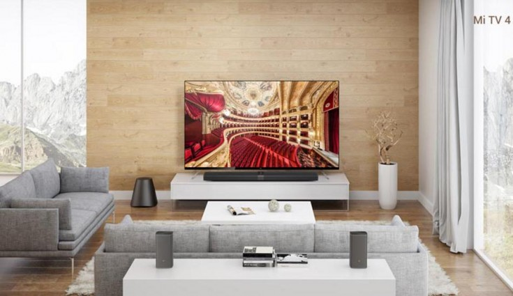 The 55 Inch Xiaomi Mi LED TV 4 with 4.9 mm thickness launched in India for Rs 39,999
