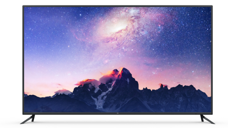 Xiaomi Mi TV 4 with a 75-inch 4K HDR display, Mi VR Standalone headset announced
