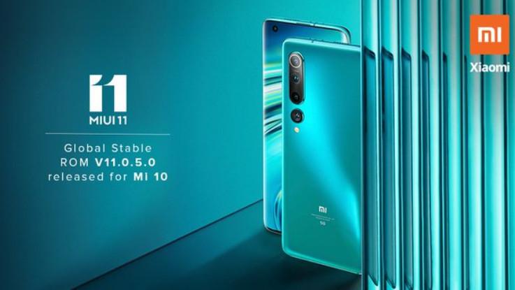 Xiaomi Mi 10 MIUI 11 update brings NavIC support and more