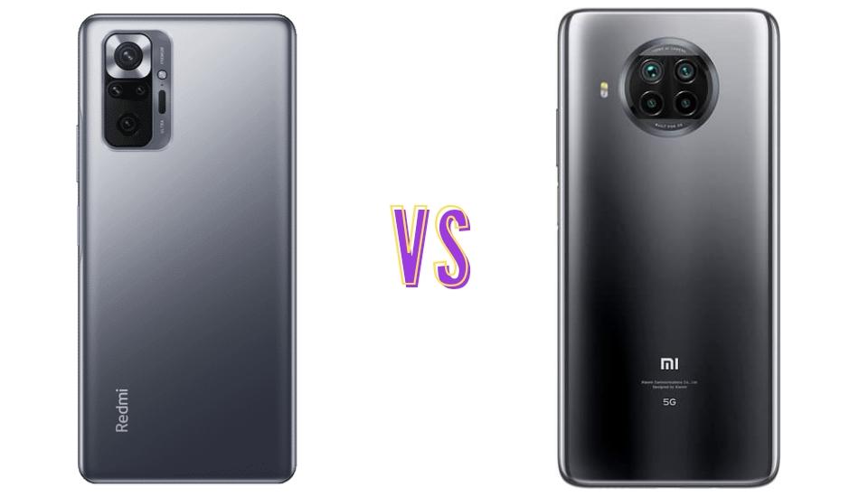 Redmi Note 10 Pro vs Mi 10i: Same but not the same