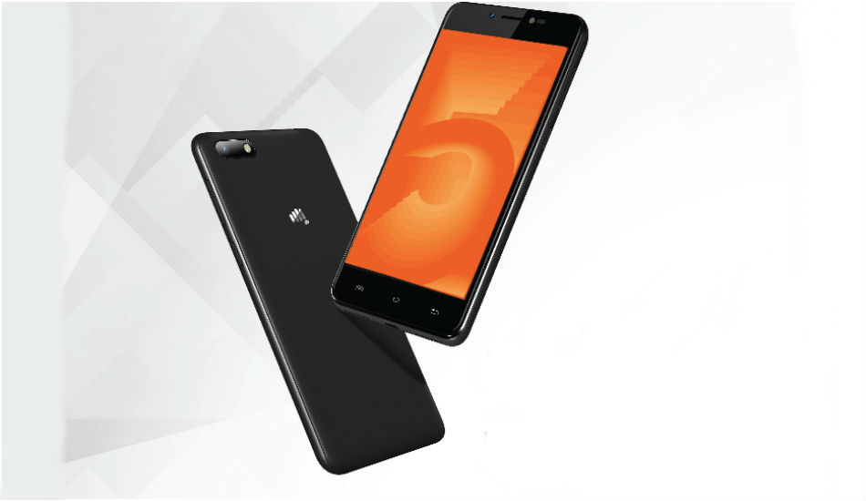 Micromax Bharat 5 with 5000mAh battery, Android Nougat launched in India