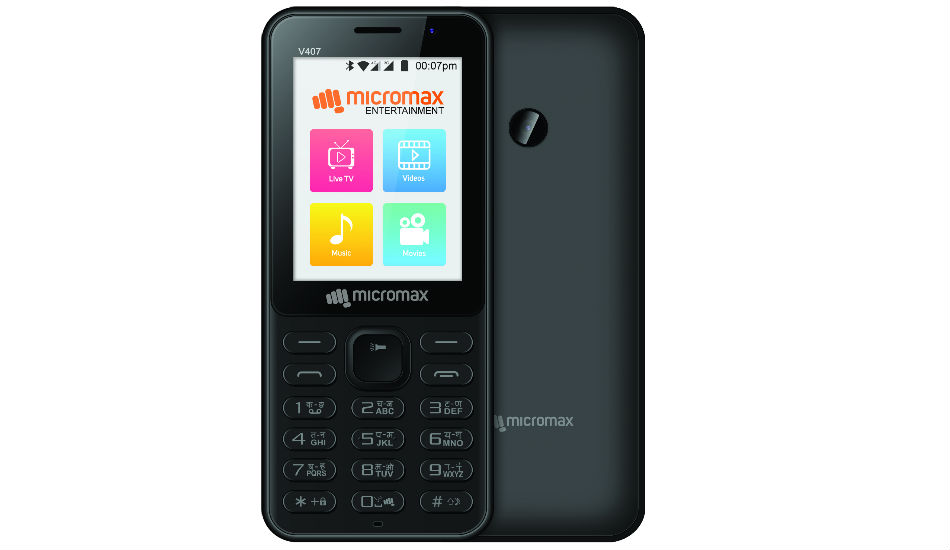 Micromax and BSNL partners to launch Bharat 1 4G feature phone at Rs 2200