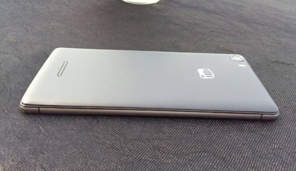 Micromax Canvas 5 Hands On - Nothing spectacular but feels decent