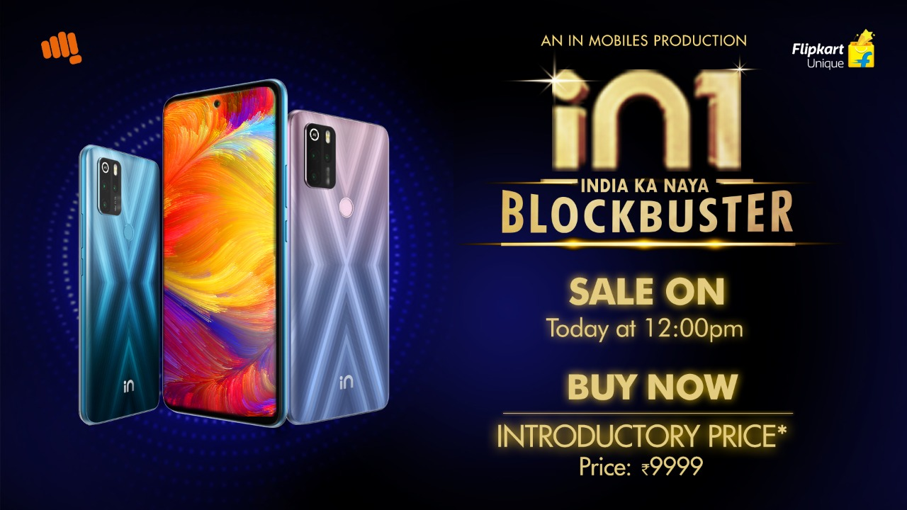 Micromax IN 1 to go on first sale today in India at 12 PM