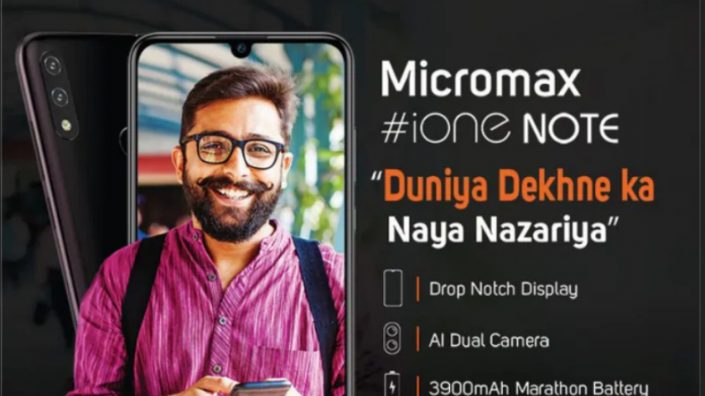 Micromax iOne Note to launch soon with dual rear cameras and Android Pie