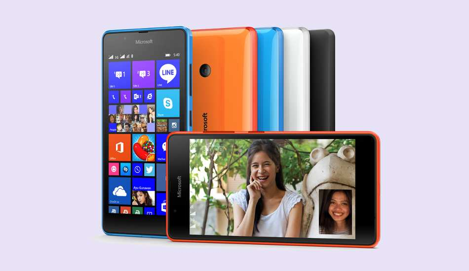 Microsoft Lumia 540 Dual SIM camera test