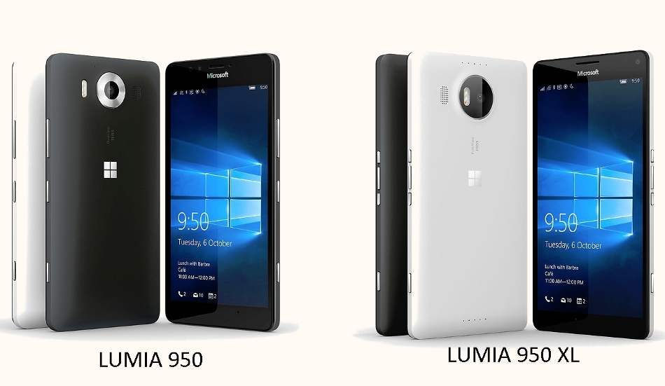Microsoft Lumia 950 to cost Rs 38,000 in India, 950 XL coming for Rs 43,000: Report
