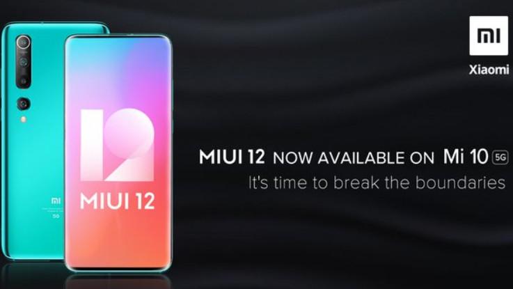 Xiaomi Mi 10 gets MIUI 12 update in India