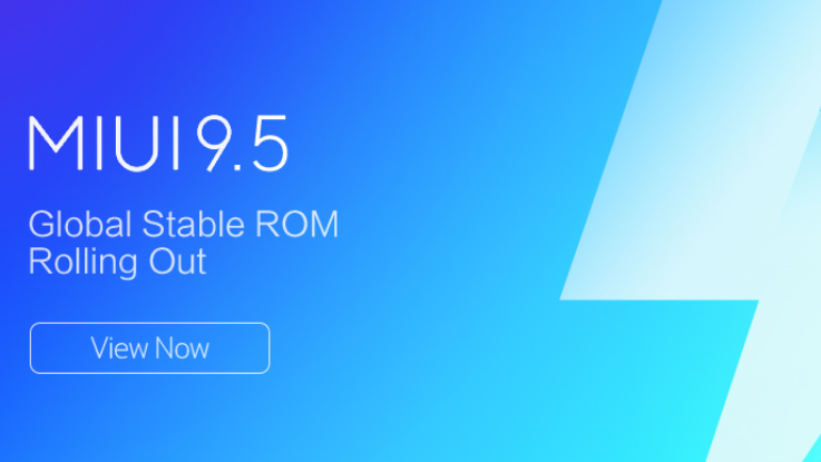 These Xiaomi smartphones will receive MIUI 9.5 Global Stable ROM
