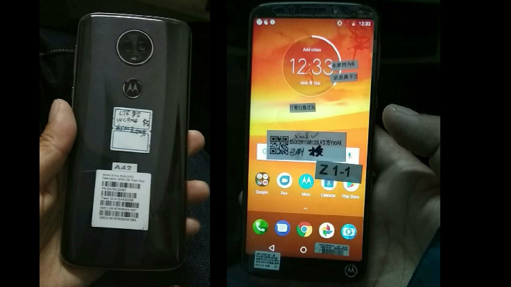 Moto E5 Plus first hands-on images leaked online