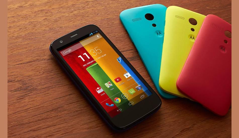 Motorola Moto G to get Android KitKat update within a week