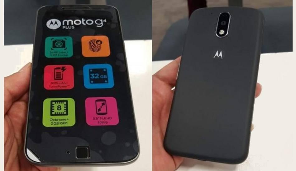 Motorola Moto G4 Plus in pics