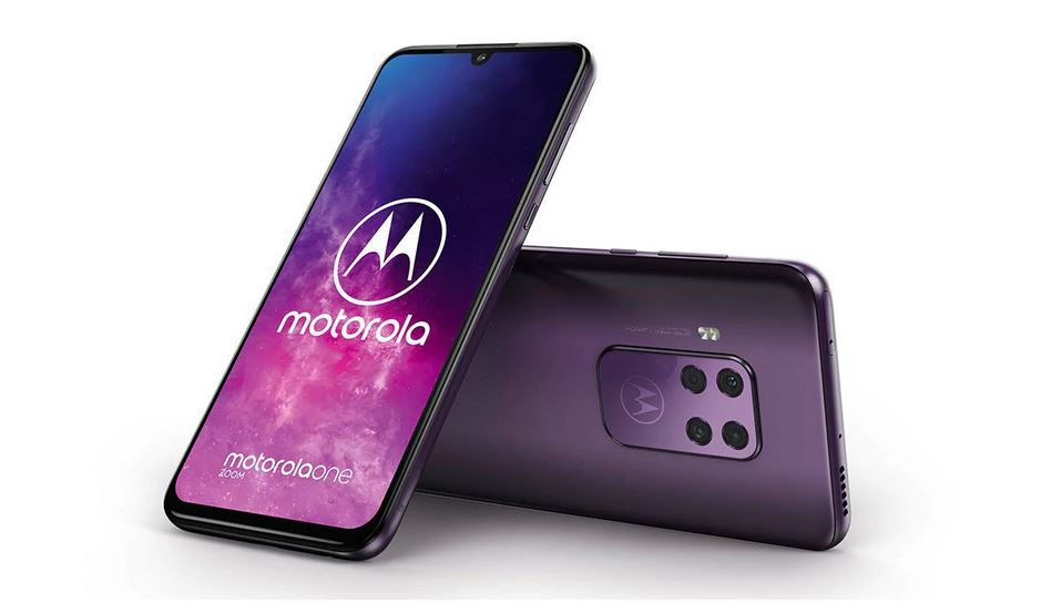 Motorola One Zoom real-life images leaked