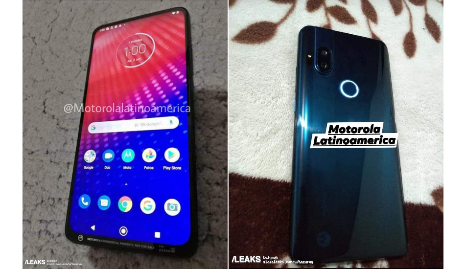 Mysterious Moto phone with pop-up front camera surfaces online