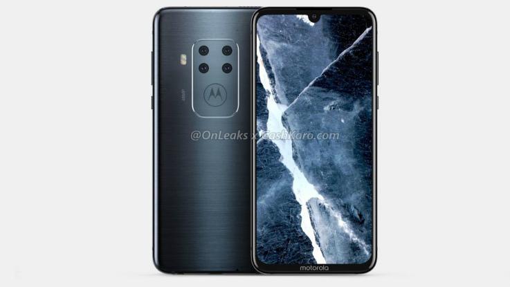 Motorola's first quad cameras smartphone spotted online