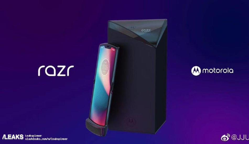 Motorola Razr (2019) foldable smartphone pictures leaked
