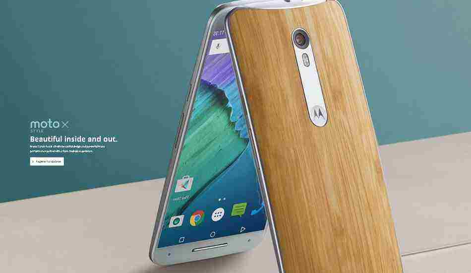 Motorola Moto Style X launched in India, price starts from Rs 29,999