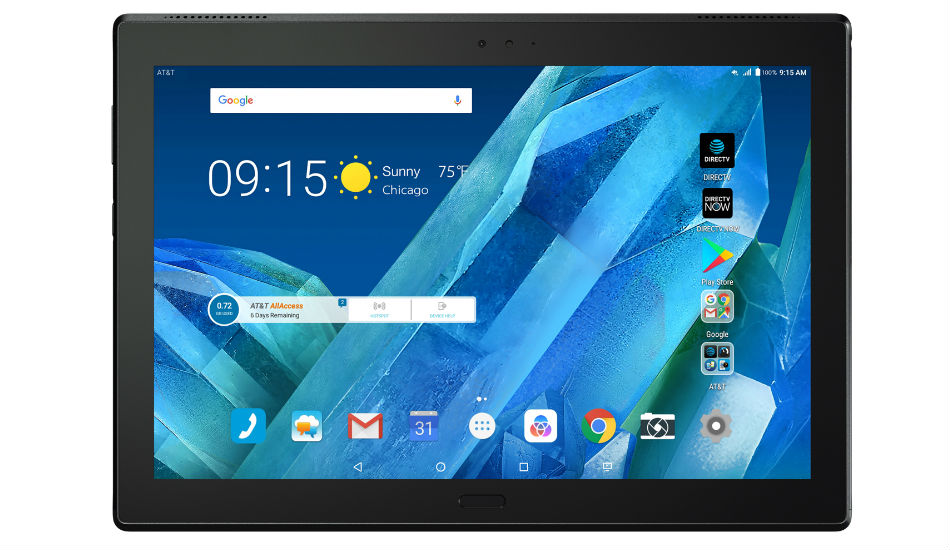 Motorola Moto Tab with 10.1-inch FHD display, Android Nougat announced