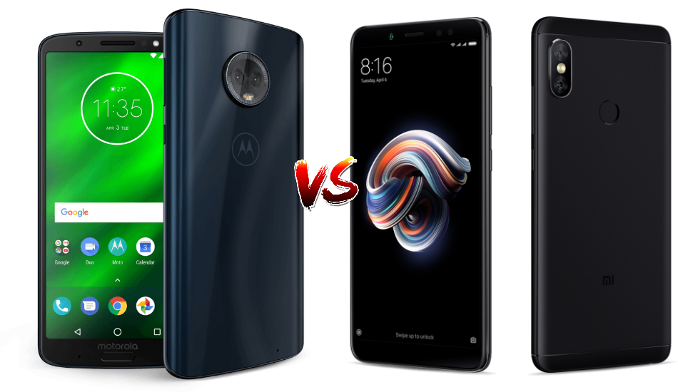 Beasts in Budget: Moto G6 vs Redmi Note 5 Pro
