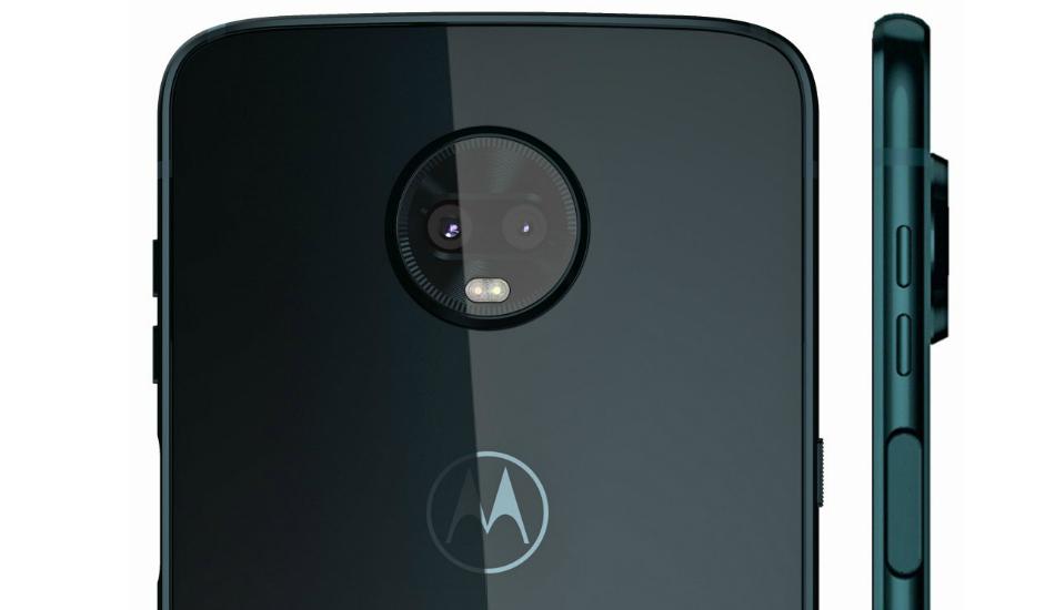 Moto Z3 Play render reveals device in Deep Indigo shades