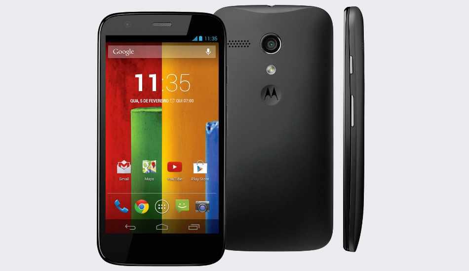 Motorola offering 10% cashback on Moto G, Moto X till Aug 18