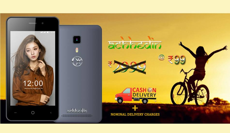 Forget Ringing Bells, Namotel Acche Din smartphone now launched at Rs 99