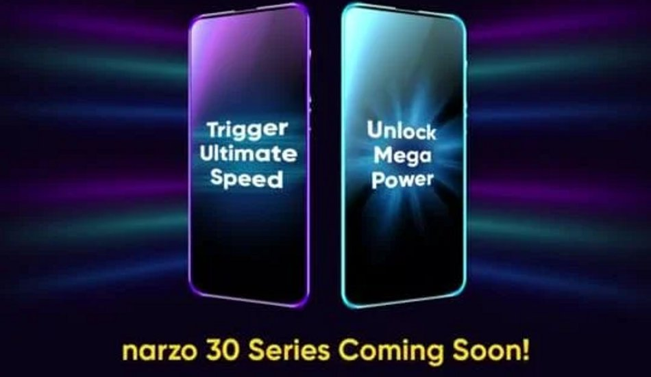 Realme Narzo 30 series Flipkart availability teased