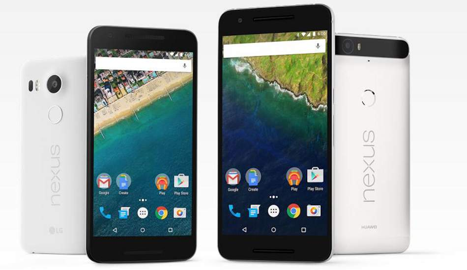 Google confirms launch of Nexus 6P, 5X in India on Oct 13