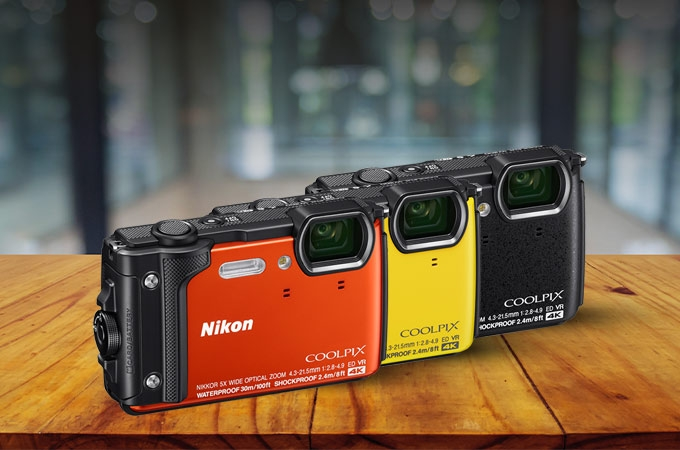 Olympus, Ricoh, Go Pro and now Nikon. Tough battle for the hardy cameras