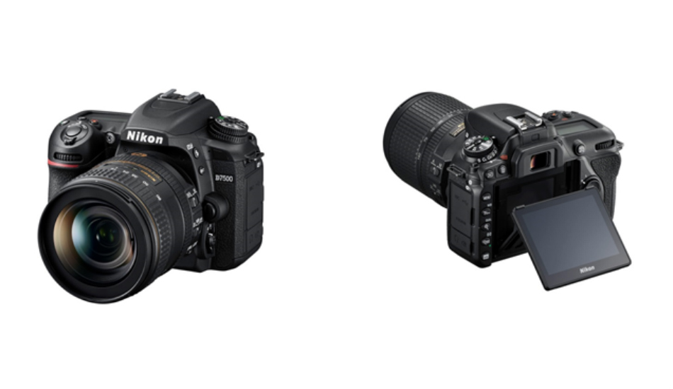 Nikon D7500 with 4K recording launched in India, price start at Rs 96,950