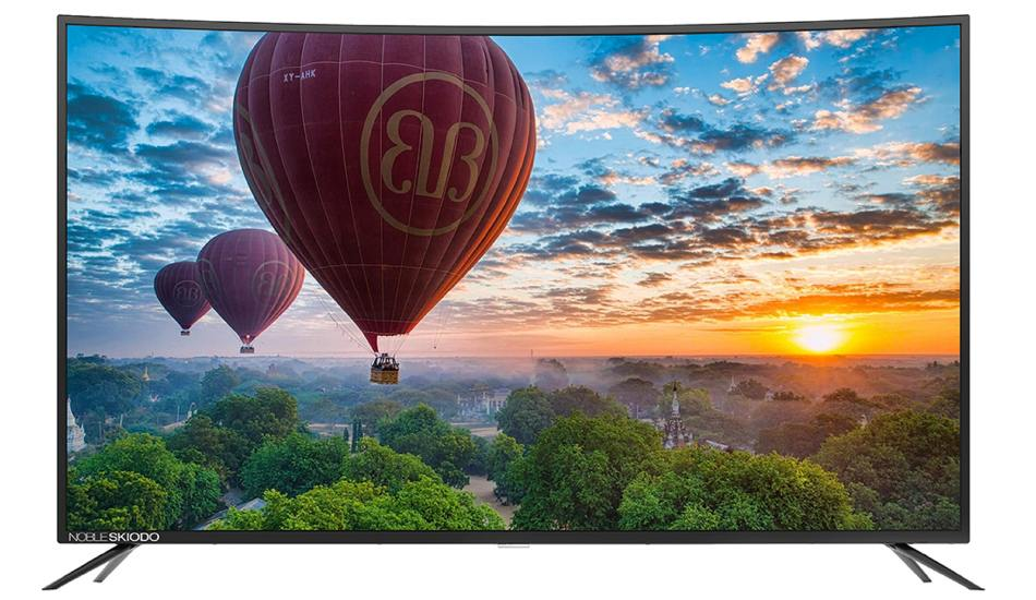 Noble Skiodo launches 55-inch Ultra HD Smart Curved LED TV at Rs 69,999