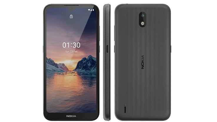 Nokia 1.3 render reveals waterdrop notch and more