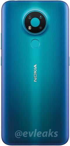 Nokia 3.4 new render leak shows blue colour variant