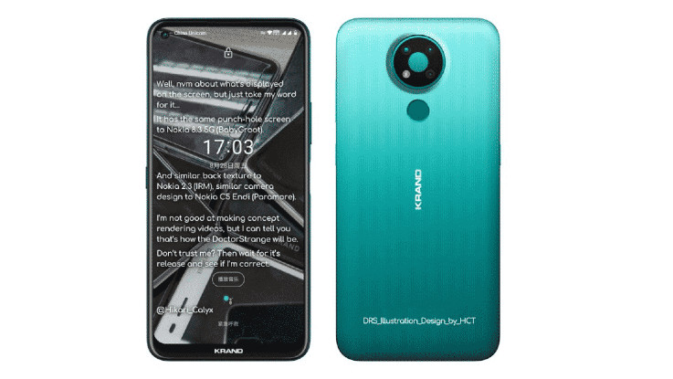 Nokia 3.4 specifications and price leaked