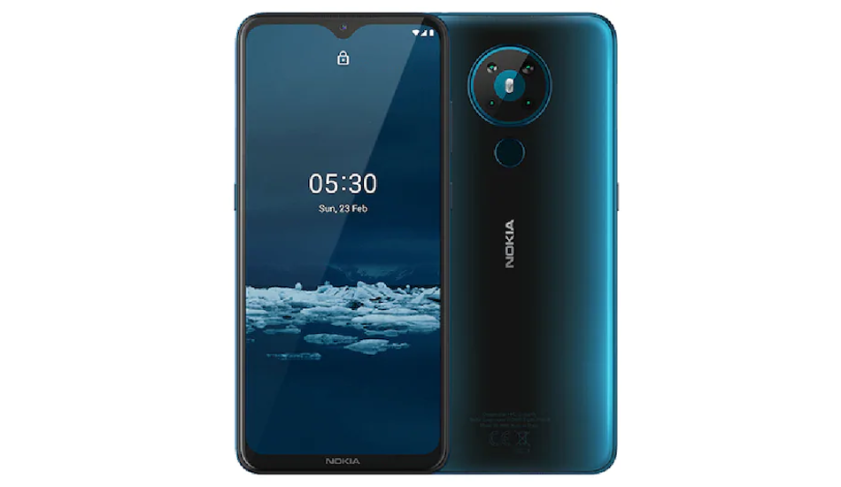 Nokia 5.3 launched in India with 6.55-inch 20:9 display, Android 10, quad rear cameras