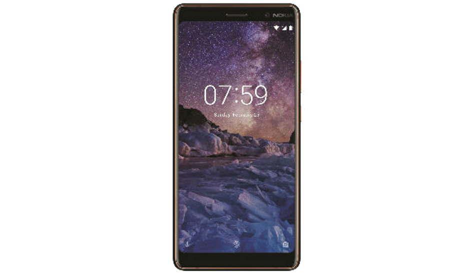 Nokia 7 Plus in pictures
