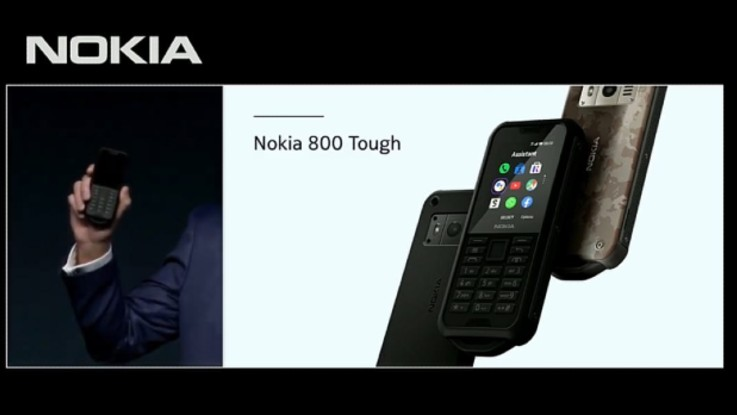 Nokia 800 Tough feature phone expected to launch in India soon