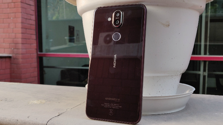Nokia 8.1 in Pictures