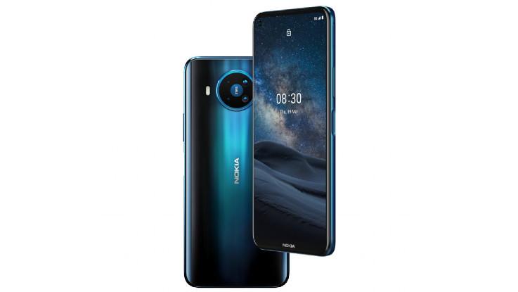 Nokia 8.3 5G with 64MP quad rear cameras, Nokia 5.3 announced