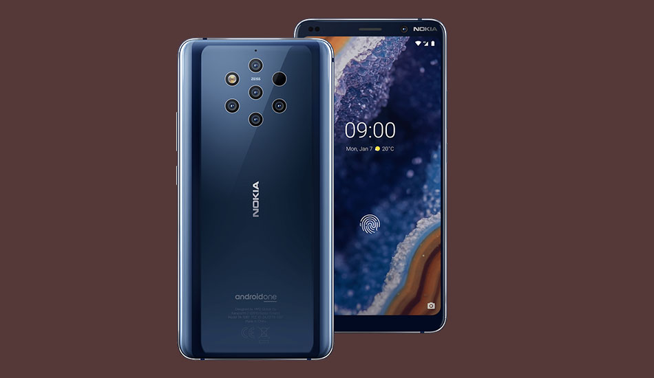 Nokia 9 PureView now getting Android 10 update in India
