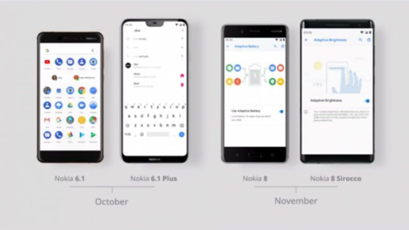 Android Pie to roll out for these Nokia smartphones soon