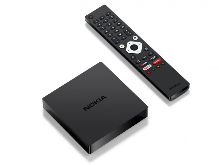 Nokia Streaming Box 8000 4K Android TV 10 set-top box launched