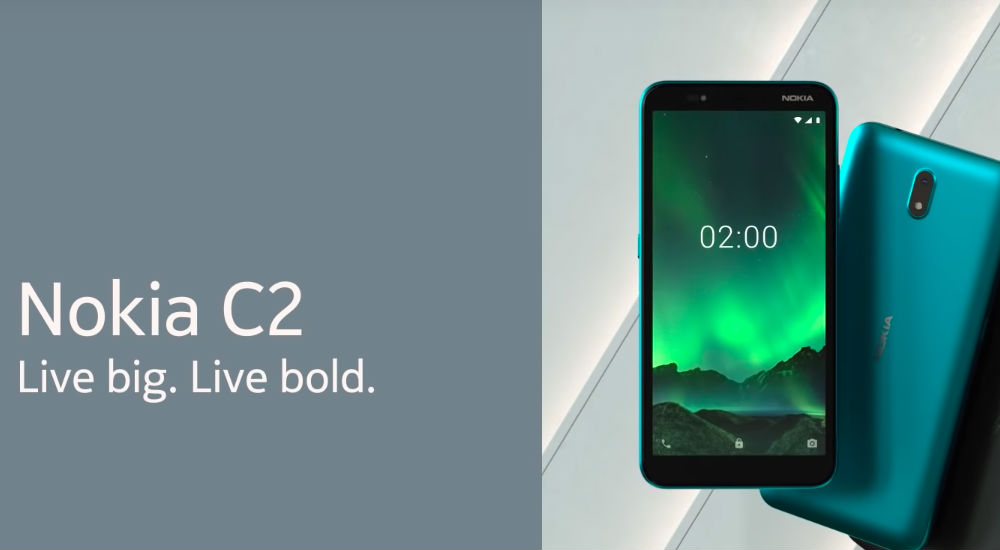 Nokia C2 Android Go Edition smartphone announced