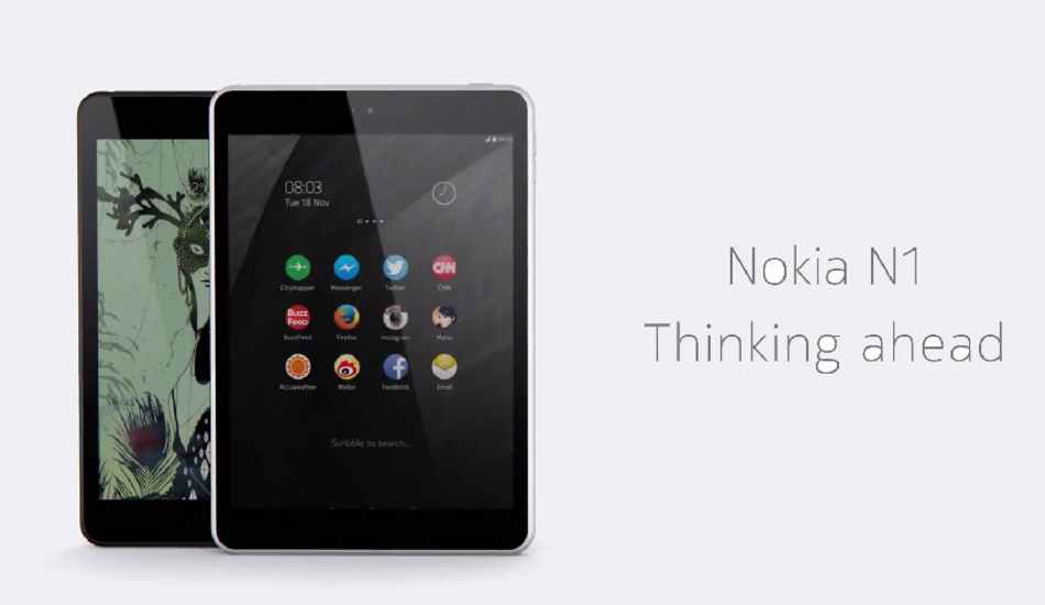 Nokia N1 may be launched in India: Report