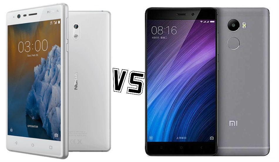 Nokia 3 vs Xiaomi Redmi 4: Who will be the next budget king?