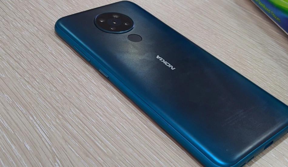 Leaked Nokia 5.3 live image confirms quad rear cameras