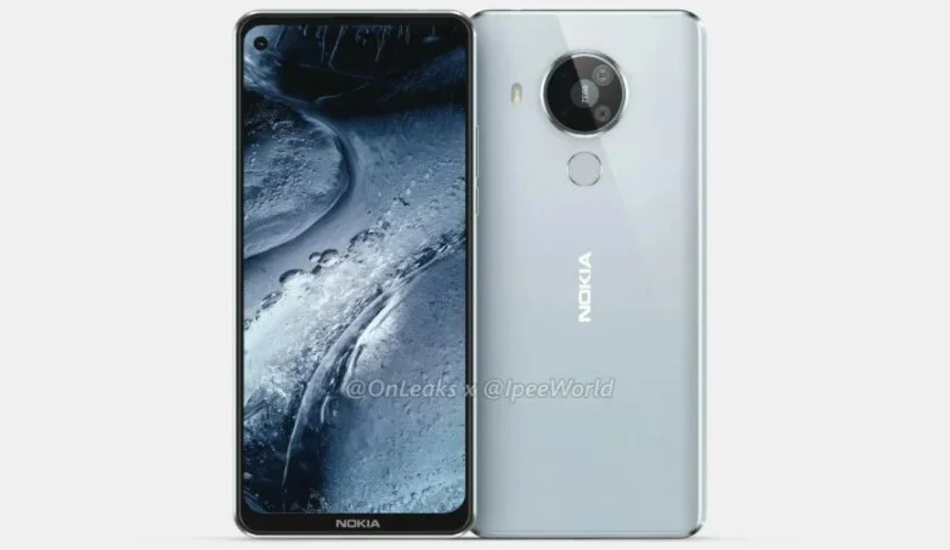 Nokia 7.3 renders reveal quad rear cameras, punch-hole display