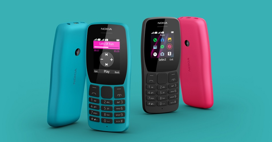 Nokia 110 feature phone with music player support launched in India for Rs 1,599
