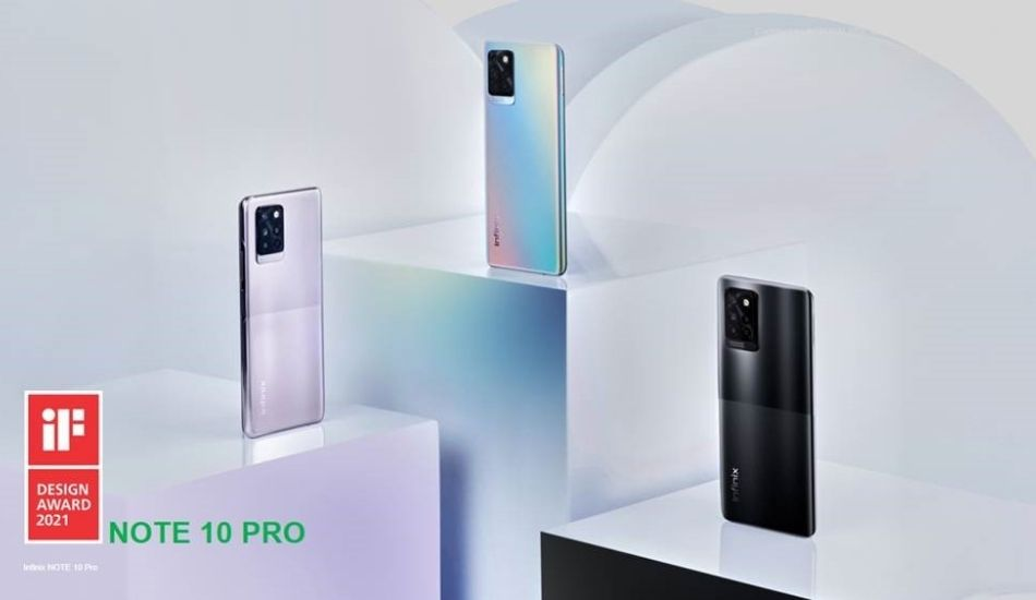 Infinix Note 10 series to launch in India in first week of June